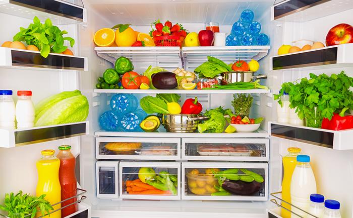 meal prep ideas for weight loss - arrange fridge