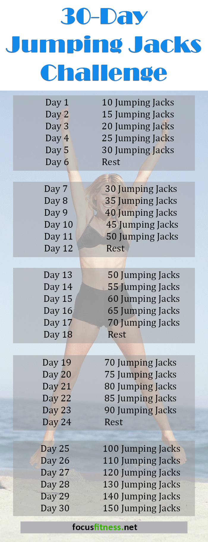 30 Day Jumping Jacks Challenge That Will Transform Your ...