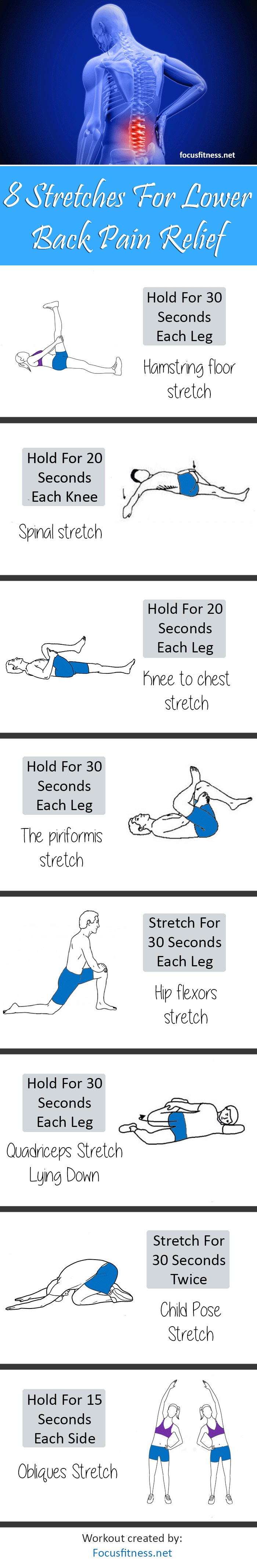 Stretch Exercises For Lower Back Pain Relief